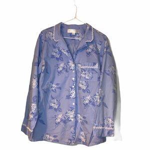 Eileen West pajama set medium